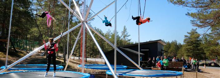 PAKKA - bungee trampoliini